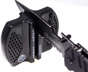ALPHA TEK Pocket Hunting Knife Sharpener
