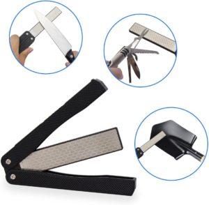 BonyTek 400/600 Grit Pocket Knife Sharpener